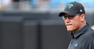 Panthers coach Ron Rivera