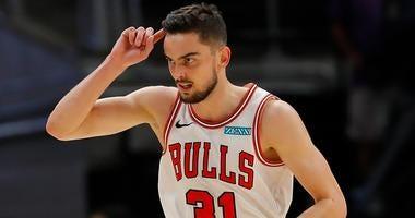 Bulls point guard Tomas Satoransky