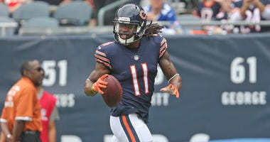 Bears receiver Kevin White
