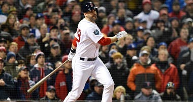 Red Sox slugger J.D. Martinez