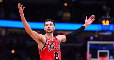 Bulls guard Zach LaVine