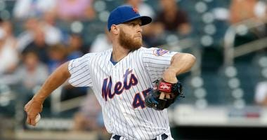 Zack Wheeler with the Mets in 2019
