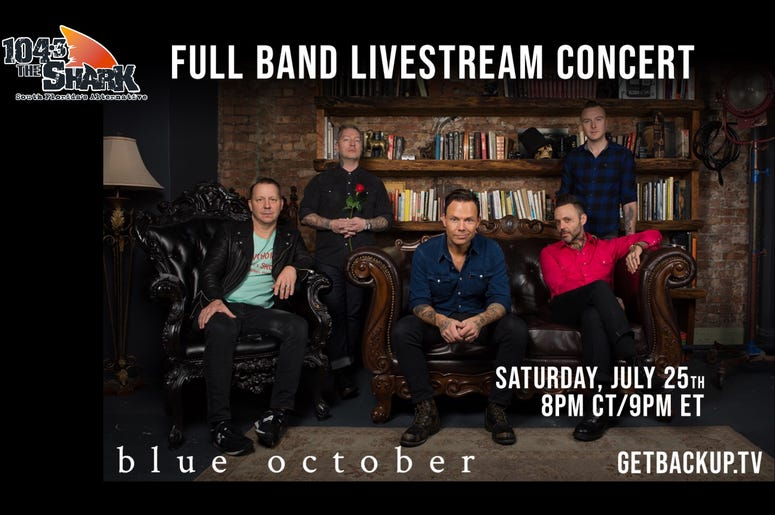Blue October Live Stream