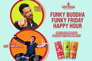 Funky Buddha IG Live