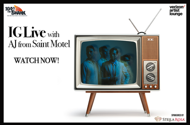 Saint Motel IG Live watch now