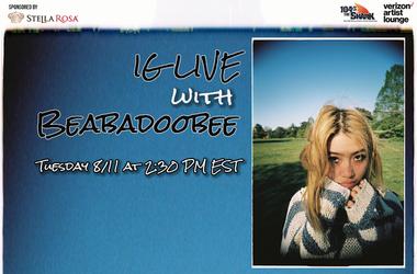 Beabadoobee IG Live