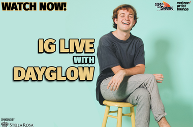 Dayglow IG Live watch now