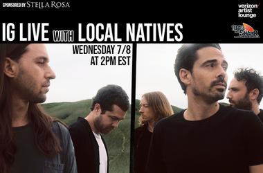 Local Natives IG Live