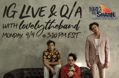 IG Live with lovelytheband