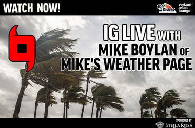 Mikes Weather IG Live watch now