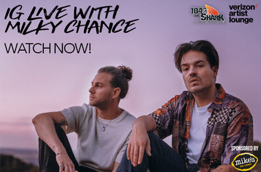 Milky Chance IG Live Watch Now