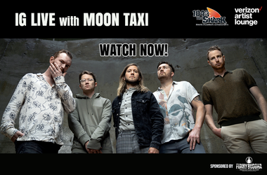 Moon Taxi IG Live Watch Now