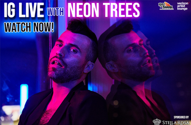 Neon Trees IG Live watch now