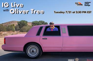 Oliver Tree IG Live
