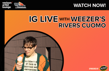 Rivers Cuomo IG Live Watch now