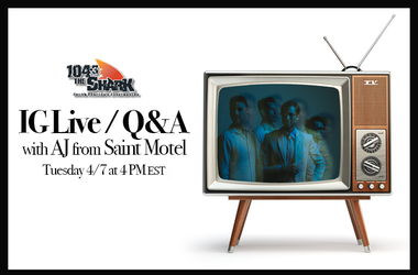IG Live with Saint Motel