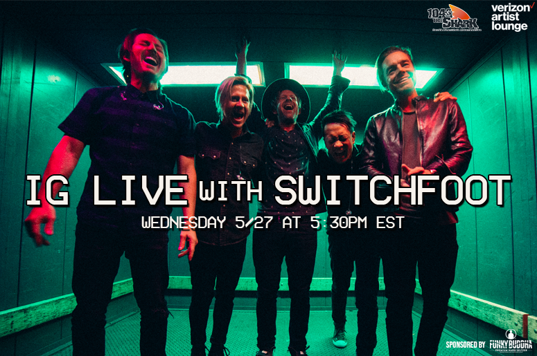 Switchfoot IG Live
