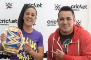 WWE SmackDown Women's Champion Bayley at Cricket Wireless