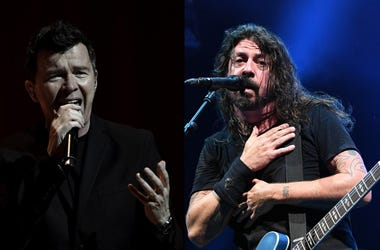 Rick Astley & Dave Grohl