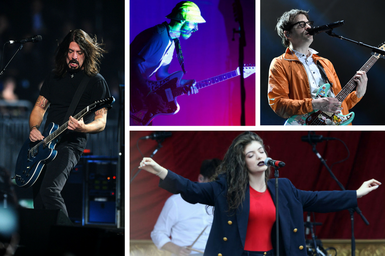 Foo Fighters, Lorde, Portugal. The Man, Weezer