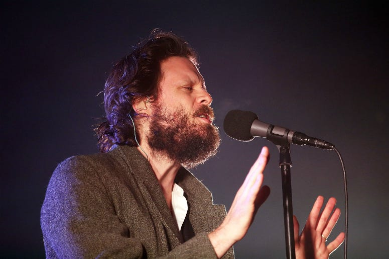 Father John Misty performs during Splendour in the Grass 2017