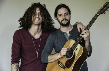 Recording artists David Shaw and Zack Feinberg of The Revivalists at the Seminole Hard Rock Hotel
