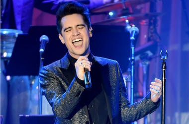 Brendon Urie of Panic! At the Disco onstage at the 2017 Clive Davis Pre-Grammy Gala at the Beverly Hilton Hotel on February 11, 2017 in Beverly Hills, California
