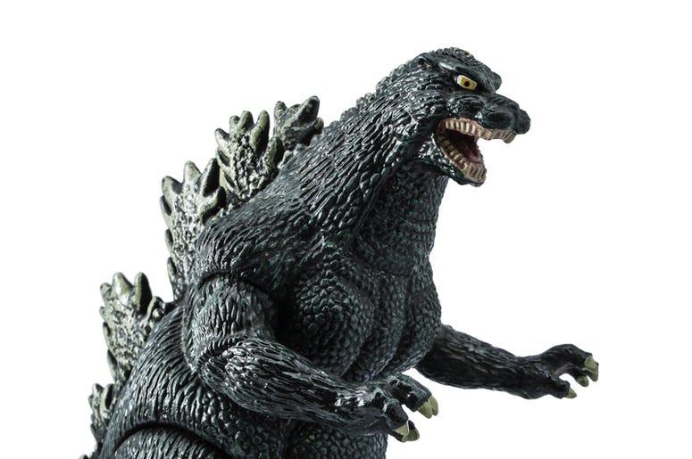 plastic Godzilla