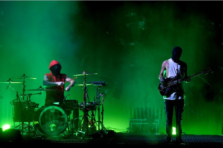 Twenty One Pilots performs at BB&T Center