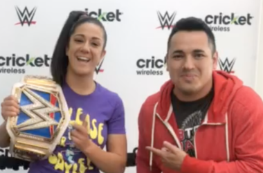 WWE SmackDown Women's Champion Bayley at Cricket Wireless