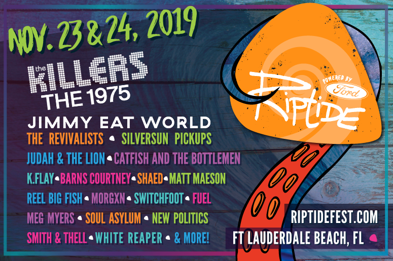 The Killers The 1975 Jimmy Eat World