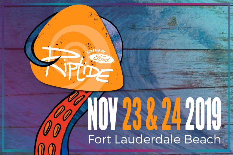 Riptide Music Festival Powered by Ford is Nov. 23 & 24, 2019!
