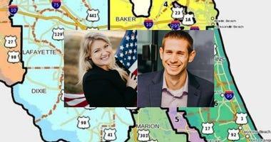 Florida's 3rd Congressional District opponents Kat Cammack and Adam Christensen
