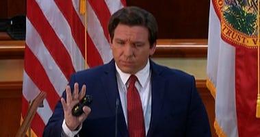 Florida Gov. Ron DeSantis outlines steps to reopen the state's economies April 29, 2020.
