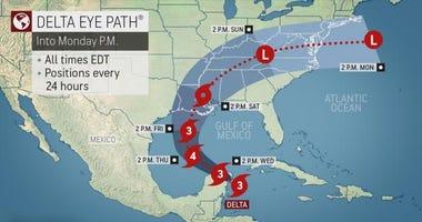 Hurricane Delta 10072020