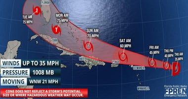 Florida Storms-FPREN August 20, 2020 11am update