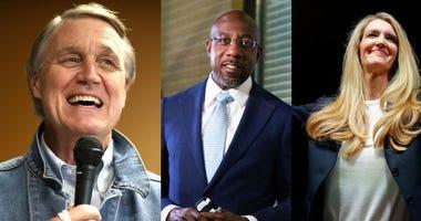 Purdue, Warnock, Loeffler, Ossoff in dual runoffs for Georgia's US Senate seats
