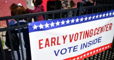 Florida early voting through Oct. 31