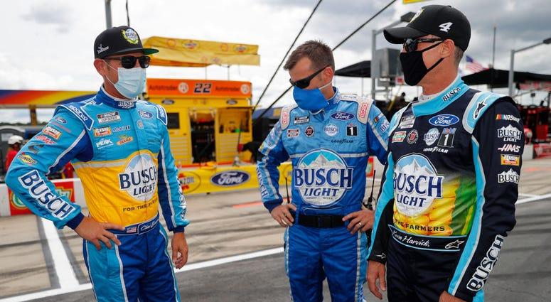NASCAR drivers prepare for Atlanta race