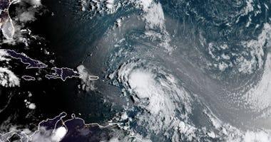 Tropical Storm Laura forms in Atlantic