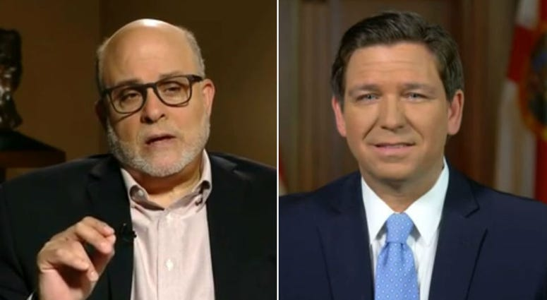 Florida Gov. Ron DeSantis with Mark Levin on FOX News' 'Life Liberty & Levin' Sunday October 11, 2020