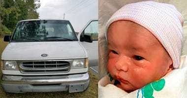 Pasco County Sheriff's office discovered wanted vehicle, but search continues for missing Amber Alert baby