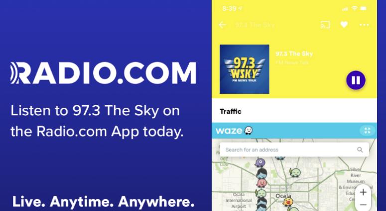 97.3 The SKY with the RADIO.COM app