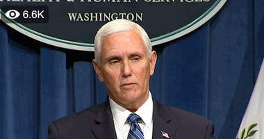 VP Mike Pence and coronavirus task force briefing