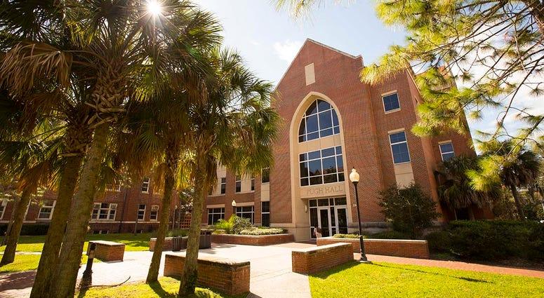 Pugh Hall on the University of Florida campus