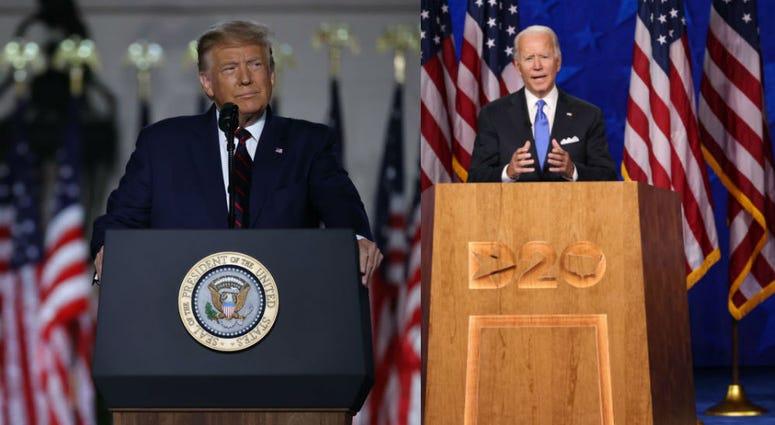 Donald Trump and Joe Biden deliver addresses in Republican and Democrat conventions