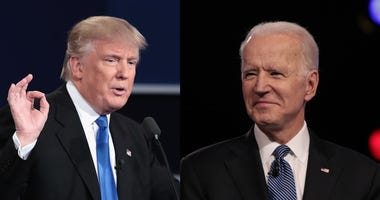 President Donald Trump and former VP Joe Biden
