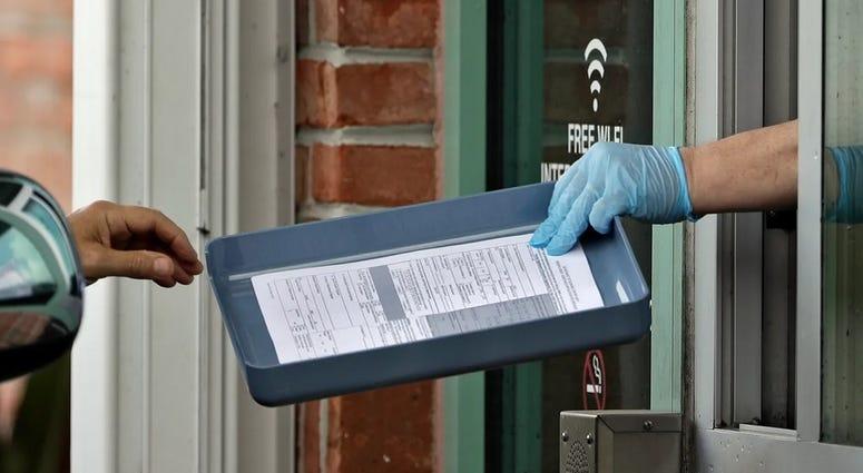 Hillsborough County worker handed unemployment application