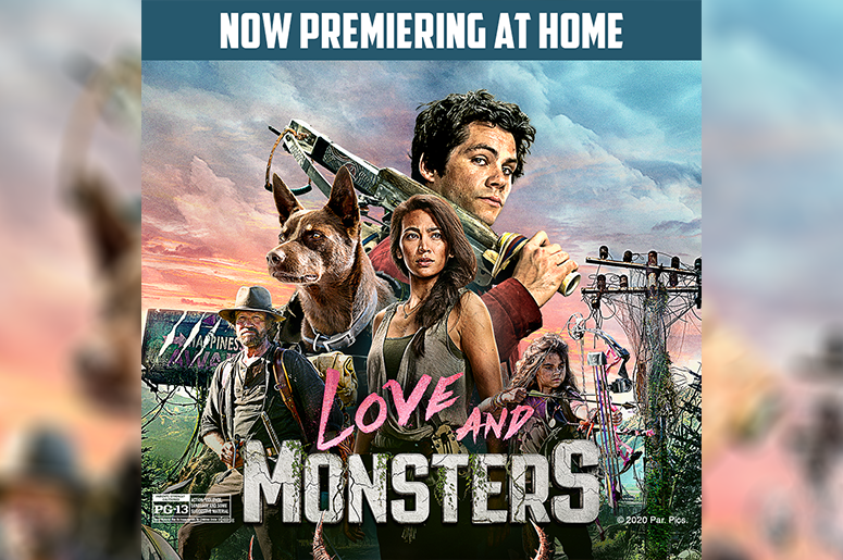 Register To Win A Digital Copy of Love and Monsters