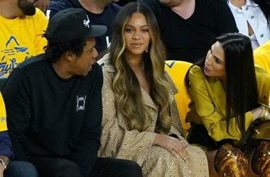 Jay-Z and Beyonce attend Game Three of the 2019 NBA Finals